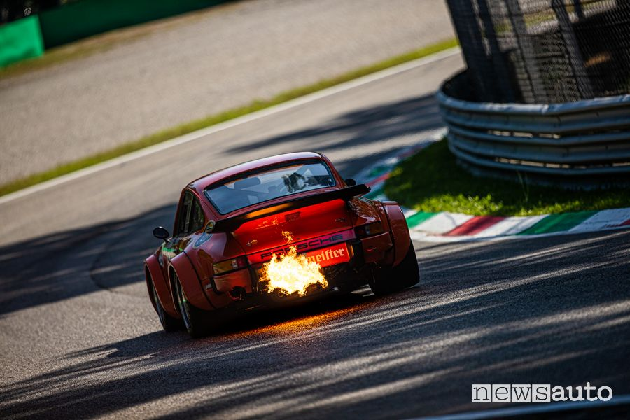 Spari Porsche 911 gare auto storiche Monza Historic 2019