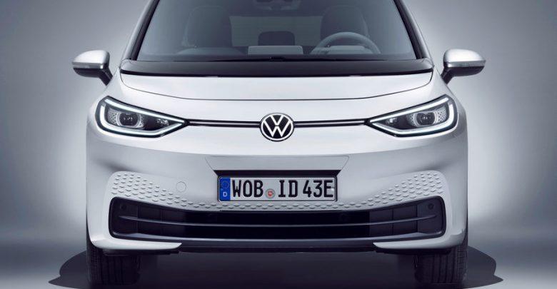 Nuovo frontale e lari a LED anteriori Volkswagen ID.3 1ST bianca