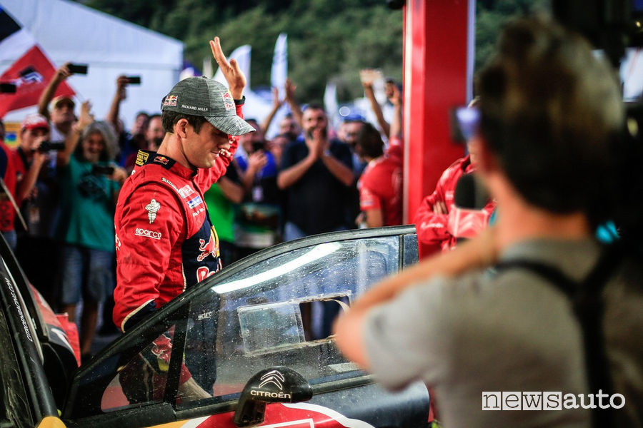Sebastien Ogier nel Rally della Turchia 2019
