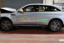 Crash test Euro NCAP Mercedes EQC