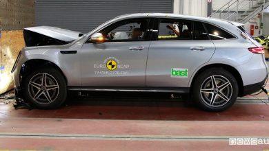 Crash test Euro NCAP Mercedes EQC