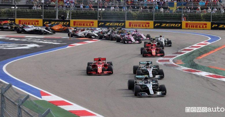 Orari Gp Russia F1 2019