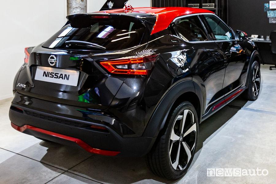 Cerchi in lega e fari a LED posteriori Nissan Juke Premiere Edition
