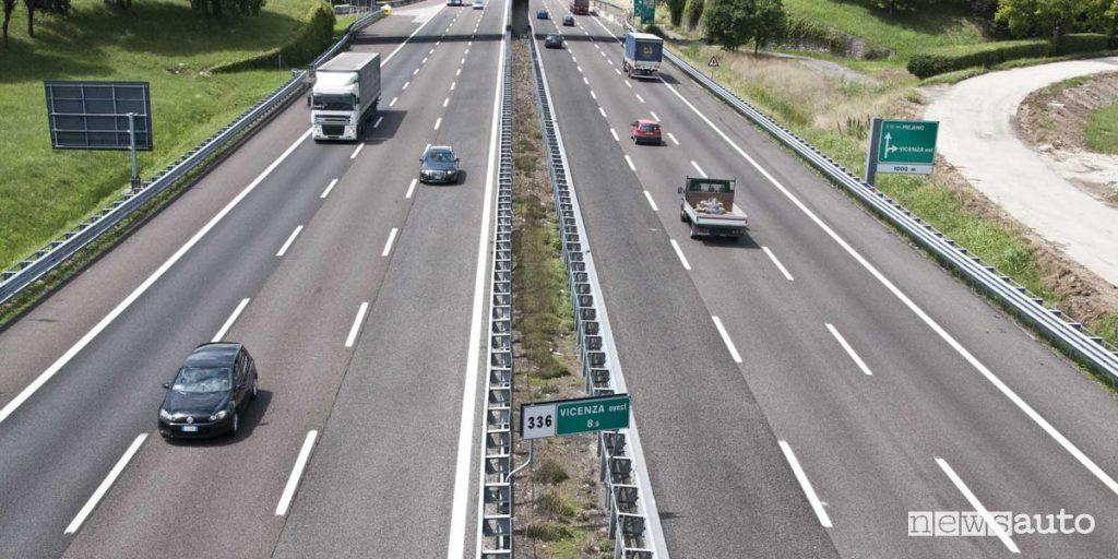 Aumento pedaggio autostradale