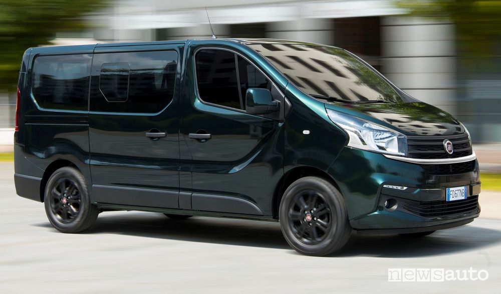 Porta laterale scorrevole Fiat Talento trasporto passeggeri
