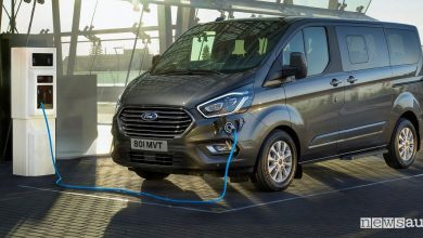 Ford Transit ibrido plug-in