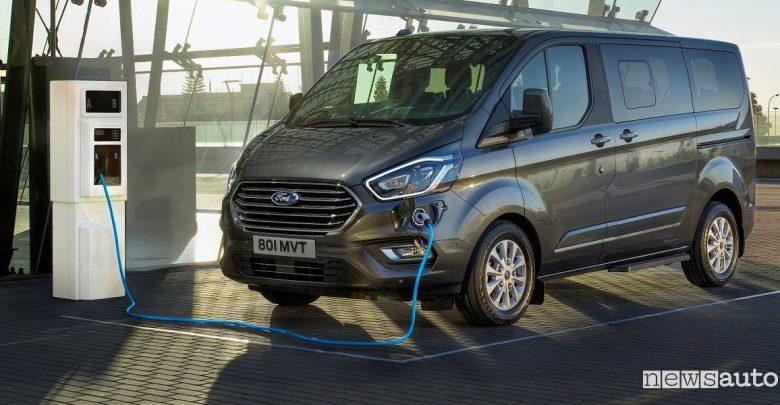 Ford Transit ibrido plug-in