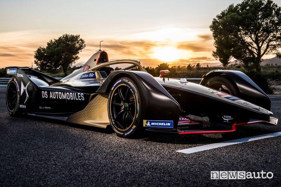 Monoposto elettrica DS E-Tense 2020 Formula E 2020