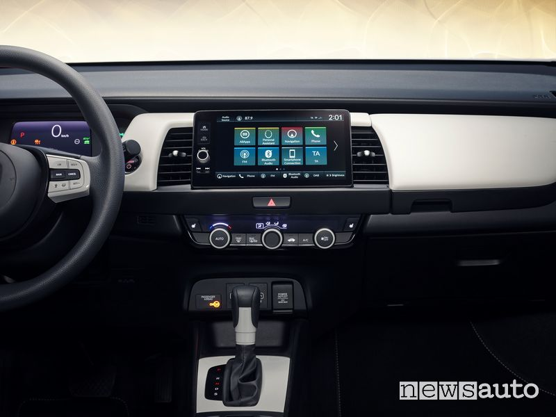 Touch screen Honda Jazz