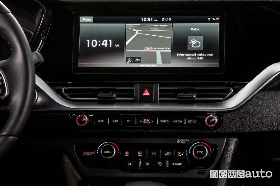 "Navigatore touch screen 12,5"" Kia Niro Hybrid"