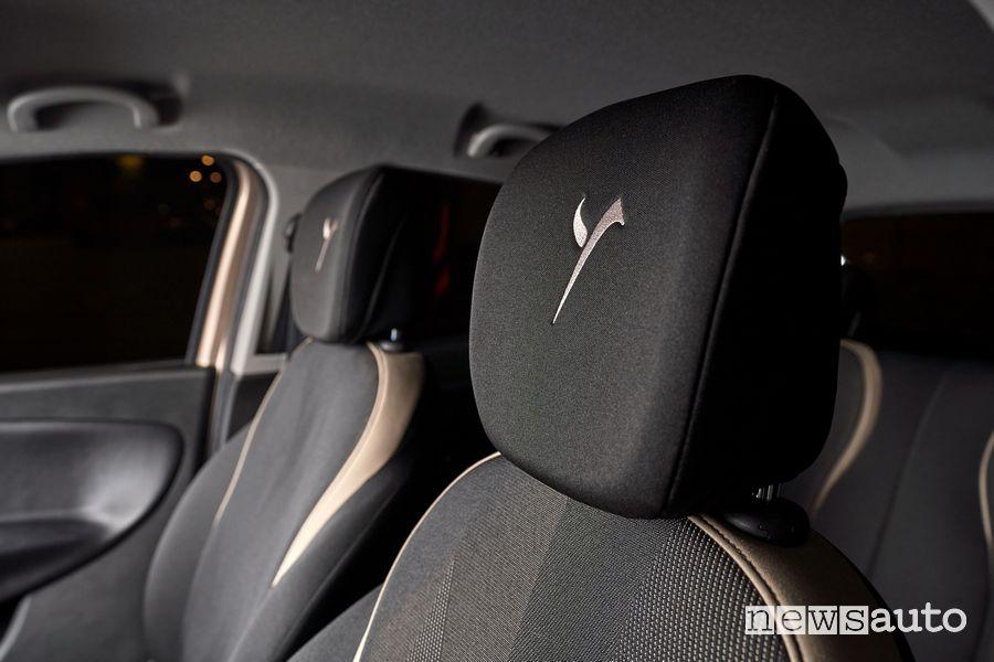 Poggiatesta sedili anteriori Lancia Ypsilon Monogram