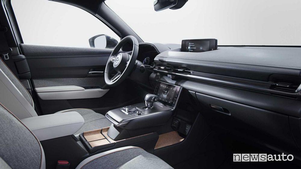 Abitacolo, consolle, plancia strumenti Mazda MX-30 elettrica