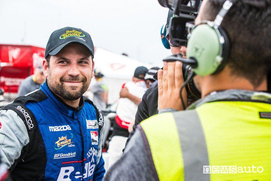 Bryan Ortiz pilota Mazda 3 TCR