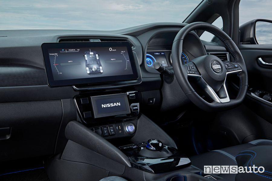Interni prototipo Nissan Leaf