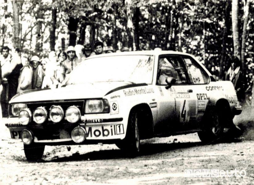 Opel Ascona-B rally con Miki Biasion