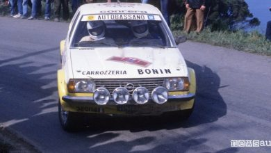 Photo of Opel Ascona rally all'asta, è quella di Miki Biasion