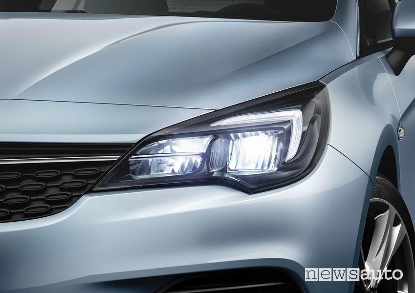 Fari IntelliLux LED Matrix Opel Astra