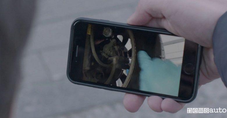 App Auto in officina Opel