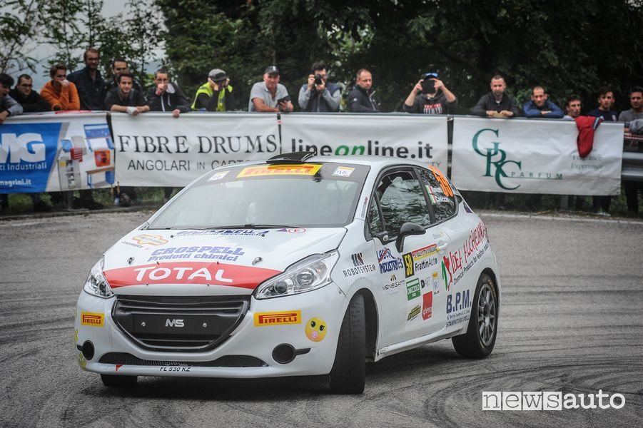 Michele Rovatti Peugeot Competition 208 Rally Cup PRO