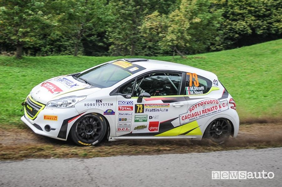 Mirco Straffi Peugeot Competition 208 Rally Cup PRO