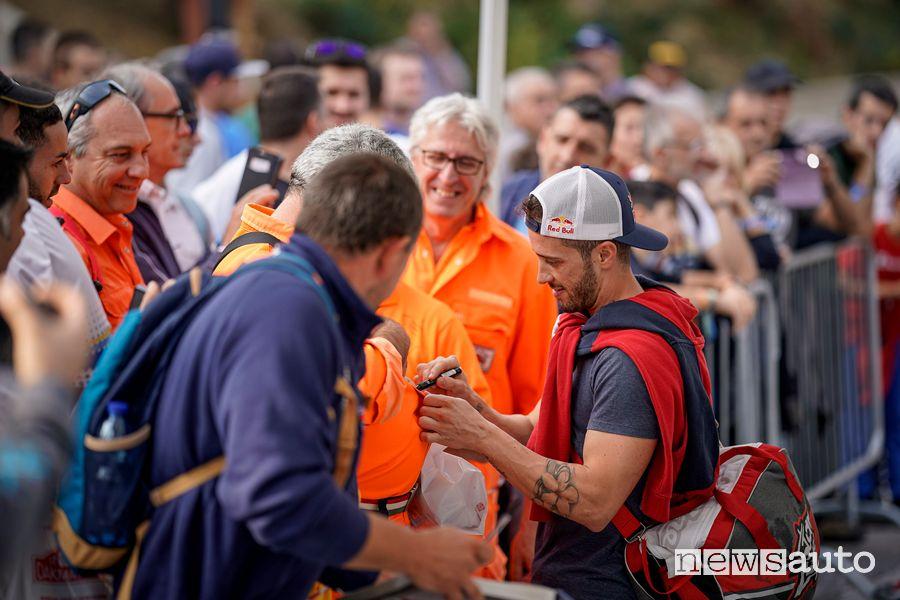 Andrea Dovizioso al Rallylegend 2019