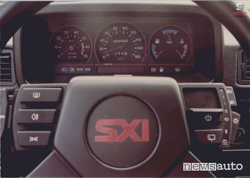 Quadro strumenti Seat Ibiza SXi 1988