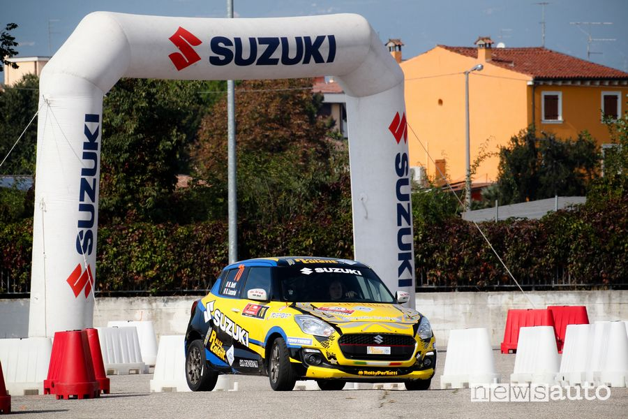 Suzuki Swift RS da rally al Rally Due Valli 2019