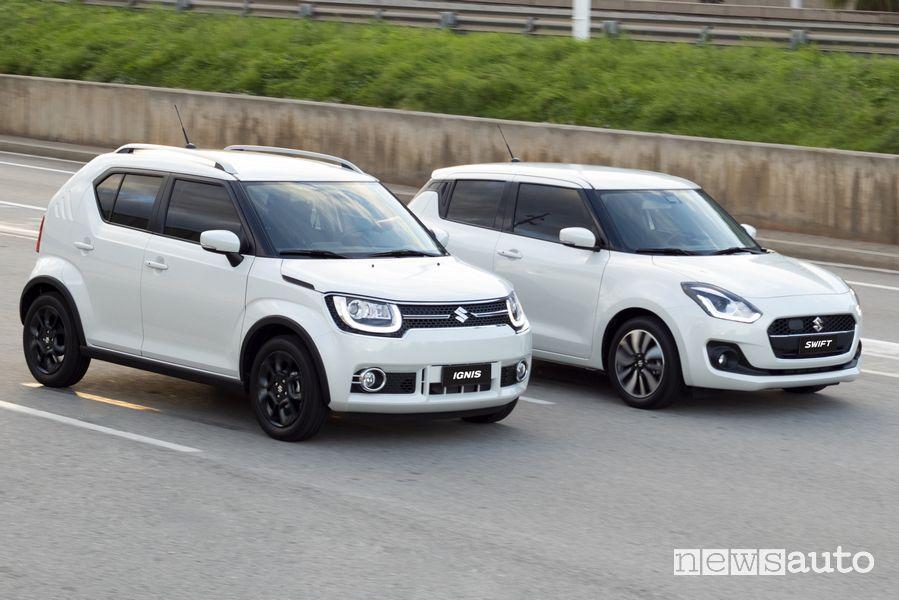 Suzuki Ignis e Swift Hybrid