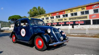 Fiat 508 C del 1937 1^ alla Targa Florio Classica 2019