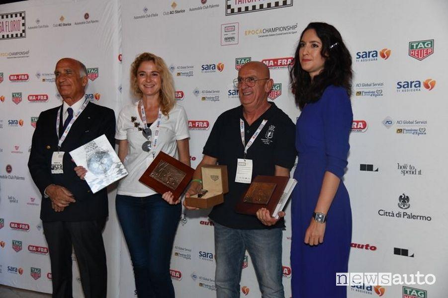 Mario Passanante e Himara Bottini vincitori della Targa Florio Classica 2019