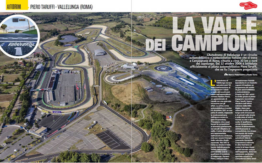 Vista aerea autodromo di Vallelunga (copyright foto ELABORARE)