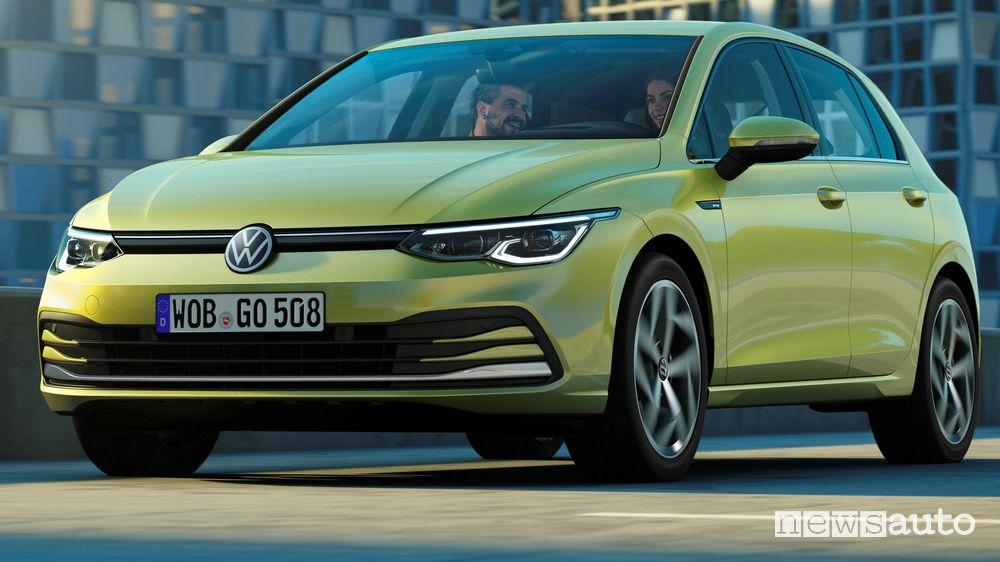 Nuovo paraurti anteriore Volkswagen Golf 8 2020