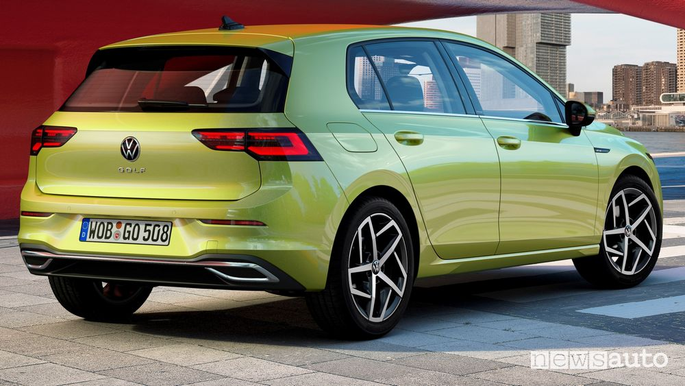 Fari posteriori, paraurti Volkswagen Golf 8 2020