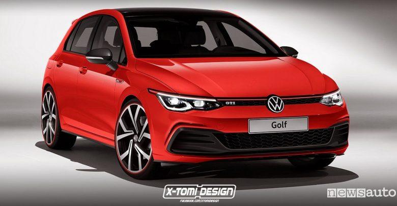 volkswagen golf 8 gti gtd r anticipazioni delle versioni pi sportive
