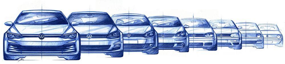Volkswagen Golf 8 quando esce?