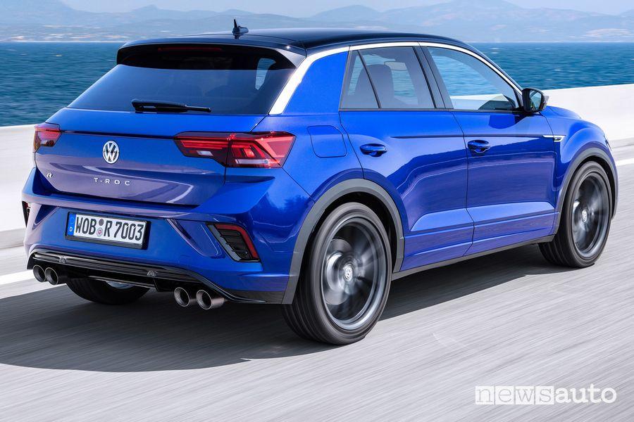 Paraurti posteriore Volkswagen T-Roc R