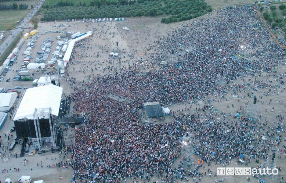 Autodromo di Imola, concerto Vasco Rossi