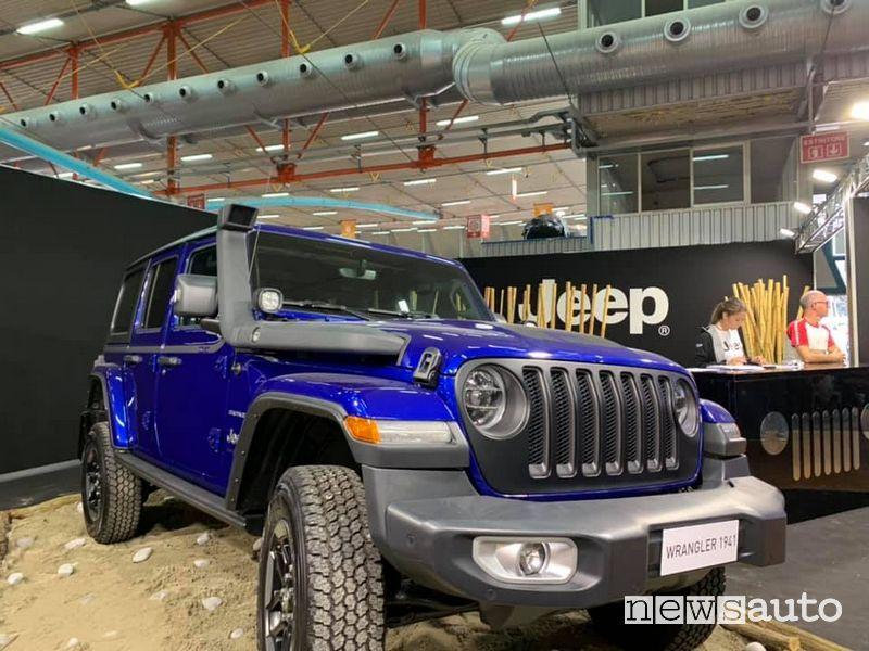 Jeep Wrangler al Carrara 4x4 Fest 2019