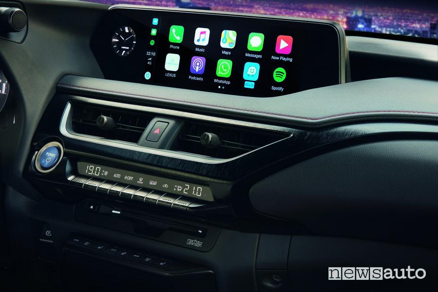 Apple CarPlay Lexus UX