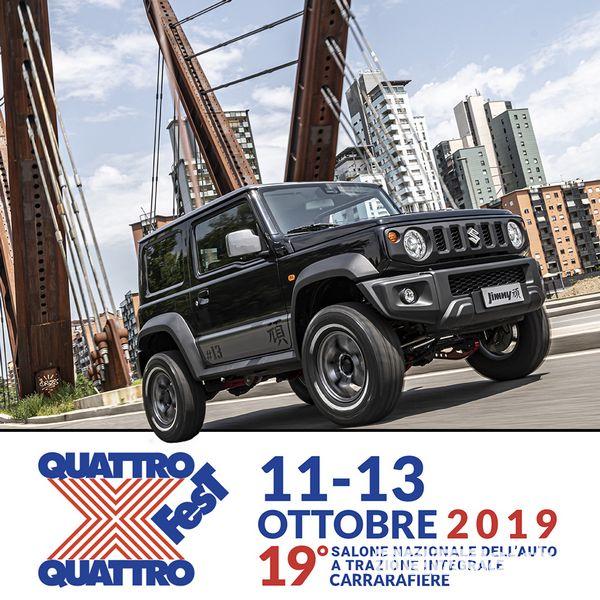 Trazione integrale Suzuki al 4x4 Fest di Carrara 2019