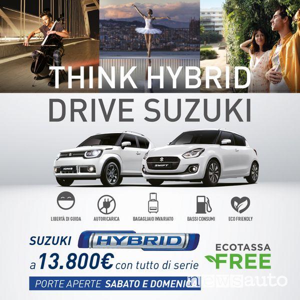 Locandina Porte Aperte Suzuki