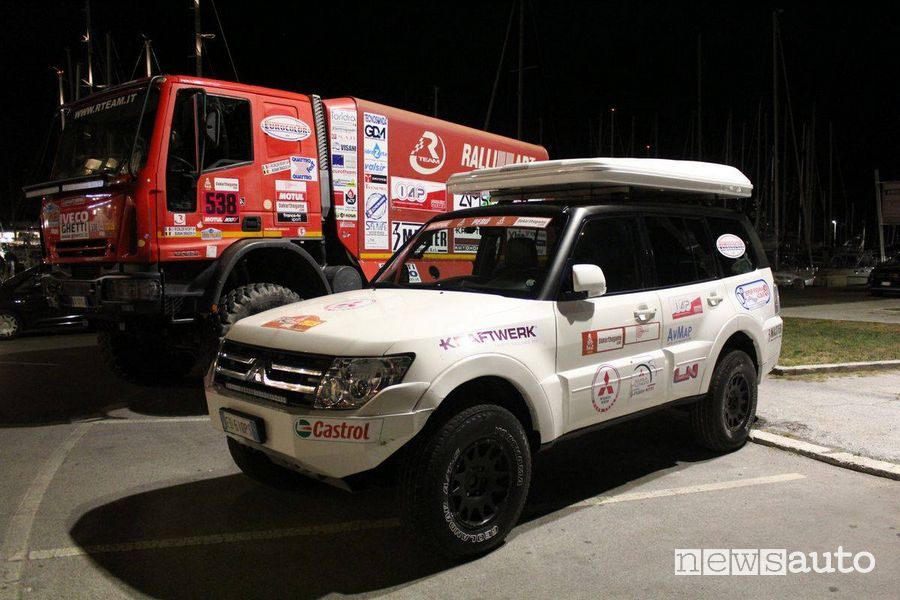 R Team - Ralliart Off Road Italy Dakar 2020