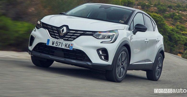 Renault Captur prezzi Initiale Paris