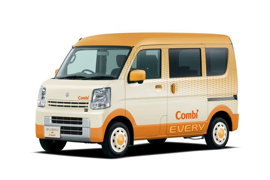 Vista di profilo concept Suzuki Every