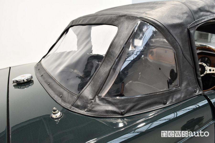 Tettuccio semi-rimovibile auto storica