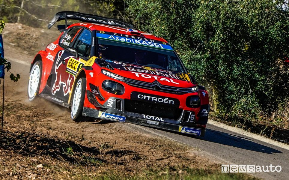 Citroën C3 WRC Ogier Rally Spagna 2019