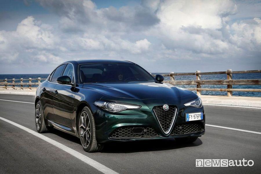 Paraurti anteriore Alfa Romeo Giulia 2020