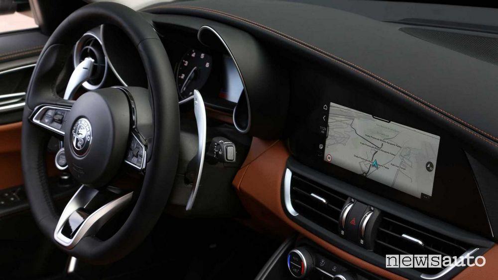 Volante, navigatore Alfa Romeo Stelvio 2020