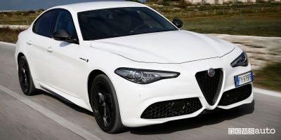 Alfa Romeo Giulia 2020 condividere l'auto con amici e parenti