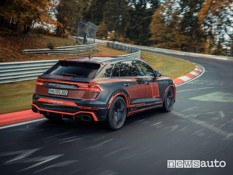 Record Nurburgring SUV Audi RS Q8